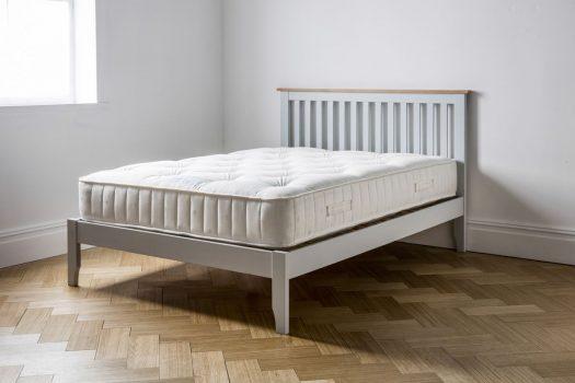 Warwick Bedstead Grey Low Foot